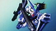Gundam Astray Blue Frame Full Weapon Form