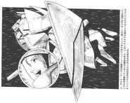 Gundam Chars Counterattack - High Streamer RAW Novel V03-274
