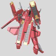 CG Reborns Origin Gundam Rear