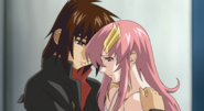 Kira & Lacus, in Your Arms 01 (Seed Destiny HD Ep13)