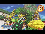 """SD GUNDAM WORLD HEROES Episode 2 """"A Voice That Calls For Justice""""(EN,HK,TW,CN,KR,TH,VN,IT,FR,ID sub)"""