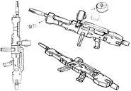 Wagtail rifle