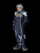 G Gen Cross Rays Custom Character (Male Celestial Being Pilot)