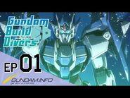 Gundam Build Divers-Episode 1- Welcome to GBN (EN dub)