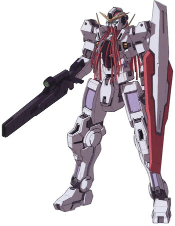 With GN Beam Rifle and GN Shield