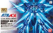 Gundam AGE-FX Burst - HG Box Art