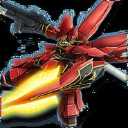 Gundam Diorama Front 3rd MSN-06S Sinanju