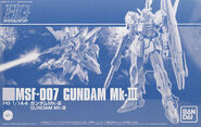 HGUC Gundam Mk-III
