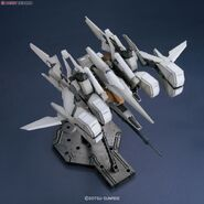 ReZEL type-C (Defenser a-unit) (GR) (Gunpla) Waverider Front