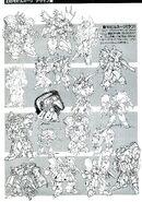 Gundam ZZ Rough Drafts Mobile Suits