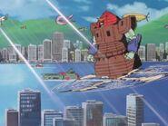 Nether Gundam Flight Mode