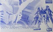 RG Destiny Gundam -Titanium Finish-