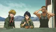 Eugene and Mikazuki