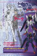 Gundam Build Divers Break - Gundam ACE Scan 2