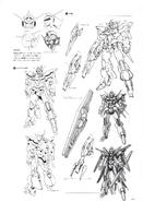 AGE-FX Gundam AGE-FX Lineart 2