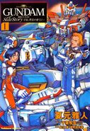 Gundam Space, to the End of a Flash Vol.1
