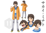 Minato sakai character sheet