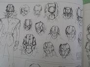 Neo Roanoke Earlier Mask Designs