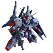 SD Gundam G Generation Genesis MSF-007 Gundam Mk-III