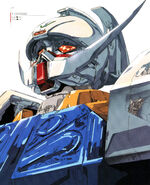 Turn A Gundam Illust Head