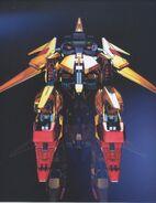 Delta Gundam CG - MA Rear View