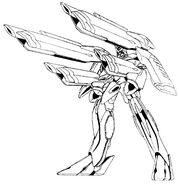 Phoenix Gundam Cannons Deployed