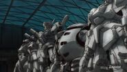 Gundam Reconguista in G old suits
