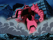 Mobile Suit Gundam Journey to Jaburo PS2 Cutscene 024 Char Zaku 4