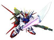 SD Gundam G Generation Crossrays Gundam Perfect Strike