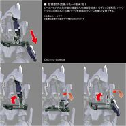 ARX-014 Silver Bullet Suppressor (Gunpla) (Action Pose 2)