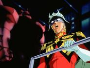 Mobile Suit Gundam Journey to Jaburo PS2 Cutscene 069 Char Gelgoog