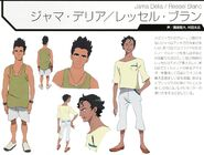 Character Profile Ressel Blanc Jama Dessel