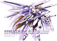 Freedom Gundam girl