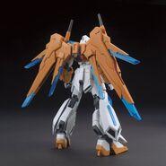 BN-876 Scramble Gundam (Gunpla) (Rear)