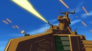 Petrie-Class Main Cannon Firing 01 (Seed HD Ep21)