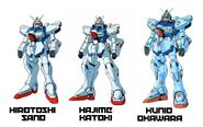 Victory Gundam Illustration Comparisson