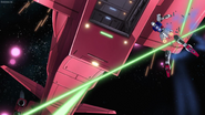 MSGSD (Remastered) Ep39 the Strike Rouge Gundam gets cut off his legs when is entering to the eternal