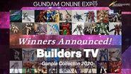 【GUNDAM ONLINE EXPO】 Builders TV -Gunpla Collecton 2020-