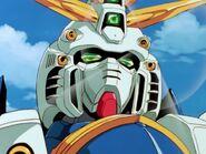 God Gundam Head Close-up