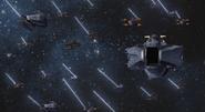 Refit EA Ships Launching 01 (Seed Destiny HD Ep9)