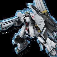 Gundam Diorama Front 3rd FA-93HWS ν Gundam Heavy Weapons System Type