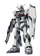 RX-93 ν Gundam (First Lot Colors) Rifle and Shield Front