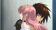 Kira & Lacus, in Your Arms 02 (Seed Destiny HD Ep13)