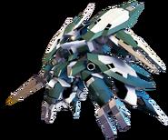 SD Gundam G Generation Cross Rays Reginlaze Julia (Ground Type)