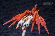 BN-876β Hot Scramble Gundam (Gunpla) (Rear Flight Mode)