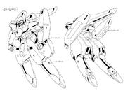 NR-001 Balient Lineart