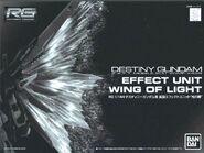RG Destiny Gundam Effect Unit Wing of Light