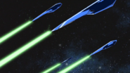 Strike Freedom DRAGOONS Firing 02 (Seed Destiny HD Ep49)