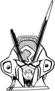 XM-X3 - Crossbone Gundam X-3 - MS Head