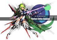 Perfect Strike Gundam MS Girl
